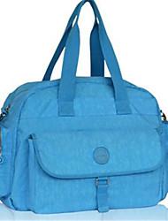 저렴한 -옥스퍼드 섬유 한 색상 기저귀 가방 지퍼 한 색상 퍼플 / 퓨샤 / 스카이 블루
