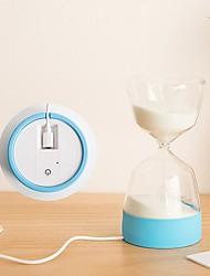 Недорогие -светодиодный мини таймер песочные часы спальный подарок новинка огни многофункциональный красочный праздник ночные светильники спальня рабочий стол декоративный свет