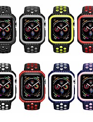 cheap -Watch Band for Apple Watch Series 4 Apple Sport Band Silicone Wrist Strap