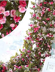 رخيصةأون -زهور اصطناعية 1 فرع كلاسيكي أوروبي النمط الرعوي الورود أزهار الطاولة