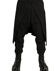 baratos -Cavalheiro Renascentista Roma antiga Ocasiões Especiais Calcinha Homens Calças Baile de Máscara Preto Vintage Cosplay Halloween Mascarilha