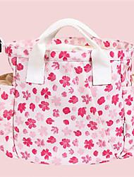 저렴한 -옥스퍼드 섬유 한 색상 기저귀 가방 지퍼 한 색상 블랙 / 핑크