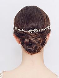 Недорогие -Сплав Расчески / Аксессуары для волос с Стразы 1 шт. Свадьба / Особые случаи Заставка