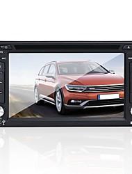 Недорогие -Factory OEM YYD-6200 6.2 дюймовый 2 Din Windows CE 5.0 В-Dash DVD-плеер Сенсорный экран / Встроенный Bluetooth / Контроль на руле для Универсальный / Toyota / Nissan RCA / Mini USB / AV выход