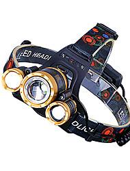 Недорогие -3LED Огни на кепку Светодиодная лампа LED излучатели с батареей и USB кабелем Портативные Регулируется Защита от ветра Cool Простота транспортировки