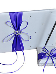 halpa -Wedding Guestbook / Pen Set Kanssa Heart / Ruseteilla / Solmittavat Punomattomat