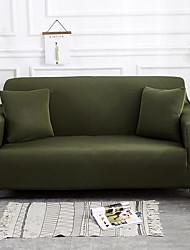 Недорогие -чехлы на диваны высокие эластичные темно-зеленые комбинаторные мягкие эластичные чехлы из полиэстера