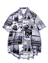 رخيصةأون -قميص الرجل النحيف - حرف / طوق القميص صورة