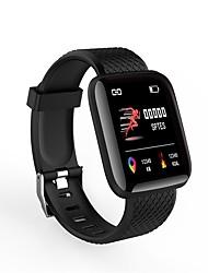 Недорогие -Indear ID116plus Мужчины Умный браслет Android iOS Bluetooth Smart Спорт Водонепроницаемый Пульсомер Измерение кровяного давления / Секундомер / Датчик для отслеживания активности / будильник