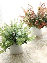 رخيصةأون -زهور اصطناعية 5 فرع كلاسيكي أوروبي أسلوب بسيط نباتات الزهور الخالدة أزهار الطاولة