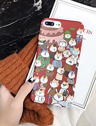 cheap -Case For Apple iPhone XR / iPhone XS Max Ultra-thin / Pattern Back Cover Animal / Cartoon Hard PC for iPhone XS / iPhone XR / iPhone XS Max
