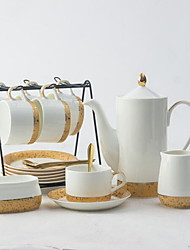 Недорогие -Керамика Креатив 15шт Чайник для кофе Чашка