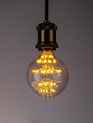 abordables -1pc 3 W 190-90 lm E26 / E27 Bombillas de Filamento LED 45 Cuentas LED