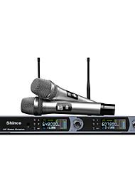 Недорогие -беспроводной микрофон беспроводной динамический микрофон ручной микрофон для караоке