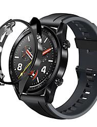 Недорогие -Кейс для Назначение Huawei Huawei Watch Силикон Huawei
