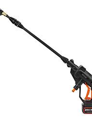 Недорогие -литиевая электрическая автомойка высокого давления аккумуляторная автомобильная шайба пистолет инструмент с удлинительной трубкой