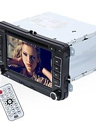 Недорогие -yyd-v7000 7-дюймовый 2-оконный Windows CE 6.0 In-Dash Автомобильный DVD-плеер GPS / MP3 / Управление рулевого колеса для Volkswagen RCA / Аудио / AV Out Поддержка MPEG / AVI / WMV MP3 / WMA / WAV JPEG