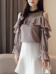 hesapli -Kadın t-shirt - düz renkli yuvarlak boyun