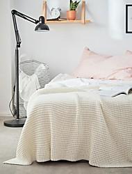voordelige -Sofa Throw, Effen / Eenvoudig Katoen Warmer comfy Superzacht dekens