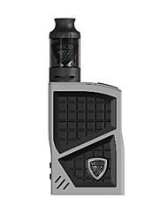Недорогие -VGOD PRO 200w BOX MOD KIT GREY Vapor Kits Электронная сигарета for Взрослый