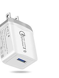 Недорогие -Зарядное устройство USB SR-7702W 3 Настольная зарядная станция ЖК дисплей / Новый дизайн / Прозрачный Body Стандарт США Адаптер зарядки