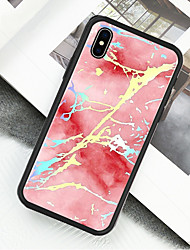 olcso -Case Kompatibilitás Apple iPhone X / iPhone XS Minta Héjtok Márvány Kemény Akril mert iPhone XS / iPhone XR / iPhone X