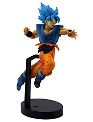 billige -Anime Action Figurer Inspirert av Dragon Ball Son Goku PVC 21 cm CM Modell Leker Dukke