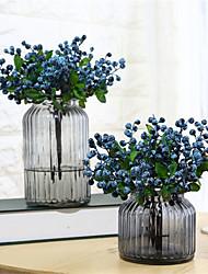 abordables -Fleurs artificielles 5 Une succursale Classique Elégant Style Simple Plantes Fleurs éternelles Fleur de Table