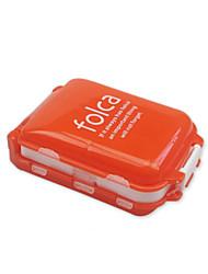 Недорогие -Дорожный кейс для медикаментов Компактность / Аксессуары для багажа пластик 10*7*3.5 cm