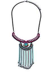 billige -Dame Elegant Trøje halskæde Ensfarvet