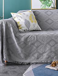 billiga -Sofföverdrag Enfärgad / Klassisk / Modernt Färgat garn Polyester / Cotton överdrag