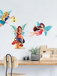 olcso -Dekoratív falmatricák - Repülőgép matricák Absztrakt Hálószoba / Dolgozószoba / Iroda