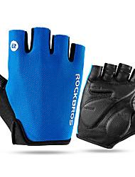 Недорогие -ROCKBROS Спортивные перчатки Перчатки для велосипедистов Горные велосипеды Дышащий Защита от солнечных лучей Без пальцев Сетка Велосипедный спорт / Велоспорт Муж.
