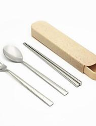 رخيصةأون -1SET مجموعات أواني الطعام أواني الطعام الفولاذ المقاوم للصدأ / الحديد خلاق