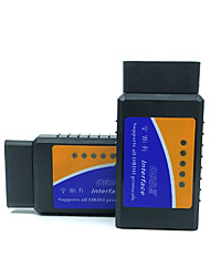 Недорогие -16pin Разъемы Male к Female OBD-II - ISO15765-4 (CAN BUS) / SAE J1850 PWM / SAE J1850 VPW Автомобильные диагностические сканеры
