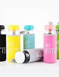 Недорогие -Бутылки для воды на 500 мл для термостойкого водостойкого цветопередачи