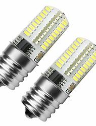 baratos -2pcs 3 W 360 lm E17 Lâmpadas Espiga 72 Contas LED SMD 3014 Regulável Branco Frio 110-130 V
