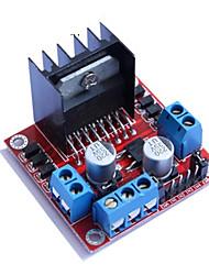 Недорогие -l298n модуль платы привода двигателя l298 шаговый двигатель dc умный автомобиль робот