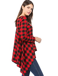 cheap -Women's Slim T-shirt - Striped