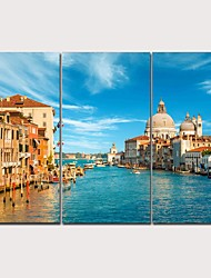 abordables -Imprimé Impression sur Toile - Photographie Moderne Traditionnel Moderne Trois Panneaux