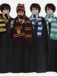baratos -Inspirado por Fantasias Magic Harry Anime Fantasias de Cosplay Tops Cosplay / Bottoms Anime Manga Longa Capa Para Unisexo
