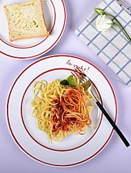 hesapli -1 parça Yemek Tabakları yemek takımı Seramik Havalı