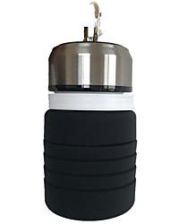 Недорогие -Пищевой 400 мл бутылки для воды складной кемпинг оборудование складной мой напиток бутылка спорт бпа бесплатно