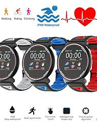 Недорогие -Indear ST1 Универсальные Смарт Часы Android iOS Bluetooth Водонепроницаемый Сенсорный экран Пульсомер Измерение кровяного давления Спорт