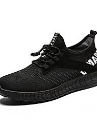 رخيصةأون -رجالي أحذية الراحة تيساج فولانت للربيع والصيف رياضي أحذية رياضية الركض متنفس أسود / أسود / أحمر
