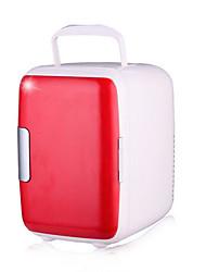 Недорогие -4л автомобильный холодильник с низким энергопотреблением двойной режим питания кулер и теплее для автомобиля и дома