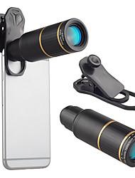 Недорогие -Объектив для мобильного телефона Длиннофокусный объектив стекло / Алюминиевый сплав 10Х и более 32 mm 3 m 9 ° Линза / объектив со стендом