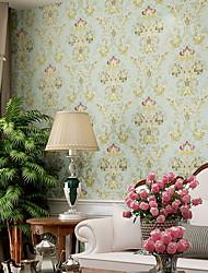 Χαμηλού Κόστους -ταπετσαρία Nonwoven Κάλυψης τοίχων - κόλλα που απαιτείται Γεωμετρικό