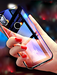 رخيصةأون -غطاء من أجل Xiaomi Mi 8 SE / Mi 6X شفاف غطاء خلفي لون سادة قاسي زجاج مقوى إلى Xiaomi Mi Mix 2S / Xiaomi Mi 8 / Xiaomi Mi 8 SE