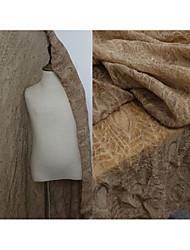 Недорогие -Тюль Однотонный Неэластичный 155 cm ширина ткань для Одежда и мода продано посредством метр
